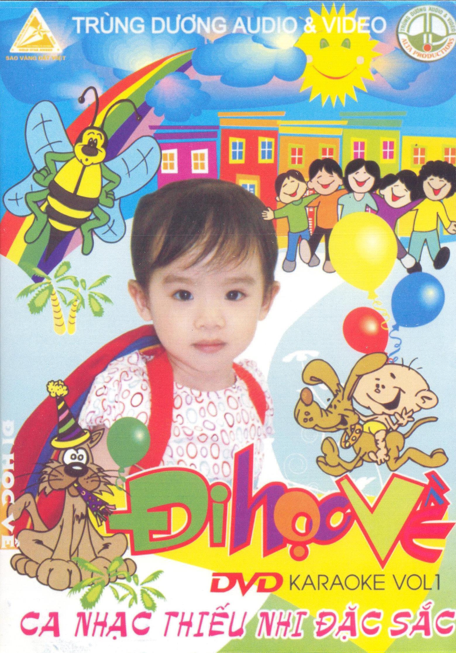 DVD Karaoke Ca Nhạc Thiếu Nhi Đặc Sắc - Đi Học Về (Vol.1) - GIẢM 21%